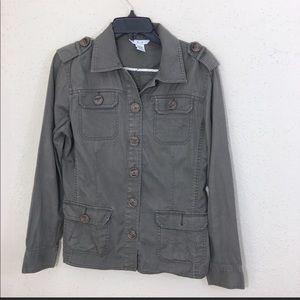 Cabi 493 Military Ambush Jacket Olive Medium